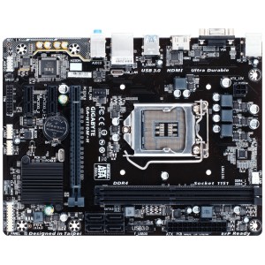 Placa de baza GIGABYTE GA-H110M-H, 2*DDR4, PCIE 3.0, 4*SATA, VGA, HDMI, Socket LGA 1151