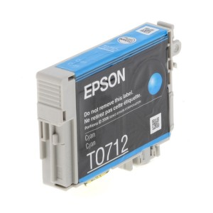 Cartus compatibil EPSON T0712, Cyan