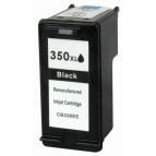 Cartus compatibil HP 350 XL Negru, CB336EE