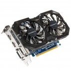 Placa video GIGABYTE GeForce GTX 750 Ti OC2 WindForce 2X 2GB DDR5, 2 X HDMI, 2 X DVI
