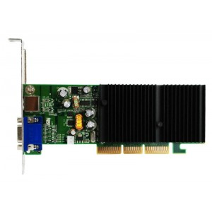 Placa video AGP GEFORCE FX5500, 256MB DDR