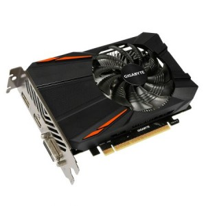 Placa video nVidia GeForce GTX1050, 2GB GDDR5, 128Bit, PCI-E 3.0, Gigabyte