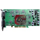 Placa video AGP, GeForce4 Ti 4600, 128MB DDR, 128-bit