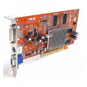 Placa video ASUS ATI Radeon 9250, 128MB, 64 bit, S-VIDEO, VGA, DVI, AGP