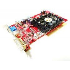 Placa video ATI Radeon 9600 PRO, 128MB, 128 bit, S-VIDEO, VGA, DVI, AGP