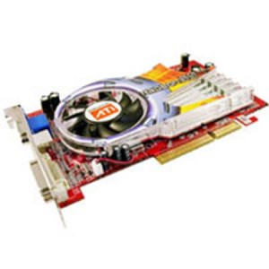 Placa video ATI Radeon 9550, 256MB, S-VIDEO, VGA, DVI, AGP