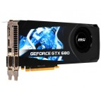 Placa video MSI GeForce GTX680 2GB GDDR5, 256BIT, HDMI, Display Port, 2*DVI