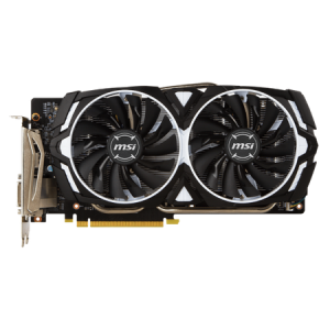 Placa video MSI GeForce GTX1060 ARMOR 6G OCV, 6GB GDDR5, 192Bit, PCI-E 3.0