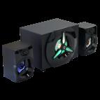Boxe Spacer Gaming 2.1, 16W, Iluminare LED
