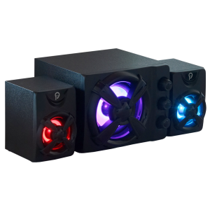 Boxe Spacer Gaming 2.1, 11W, Iluminare RGB
