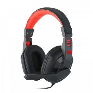 Casti gaming Redragon Ares On-ear cu microfon, negru rosu