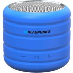 Boxa Portabila Blaupunkt, Bluetooth, FM, microSD, Albastru, 3W