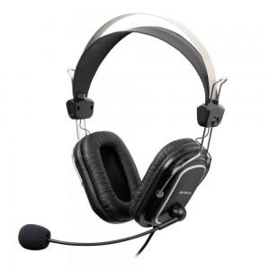Casti A4tech 50 On-ear cu microfon, negru