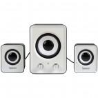 Boxe Spacer 2.1, 11W, Black & White