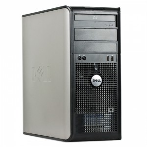 Calculator Dual Core INTEL E7500 2.93Ghz, 4GB DDR2, 160GB, DVDRW TOWER DELL OPTIPLEX 760