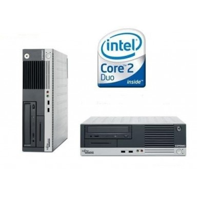 Calculator DUAL CORE INTEL E6300 1.86Ghz, 2GB, HDD 80GB, DVD DESKTOP FUJITSU ESPRIMO E5915
