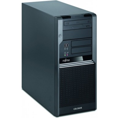 Calculator DUAL CORE INTEL E8400 3.00Ghz, 4GB, 500GB, DVD, TOWER FUJITSU CELSIUS W370