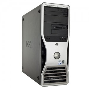 Calculator Intel Core 2 Duo 3.16GHz, 8GB DDR2, 500GB HDD, nVidia Quadro FX1700 512MB, DVDRW, TOWER DELL PRECISION T3400