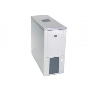 Carcasa Cooler Master, FULL ALUMINIU, lateral transparent, design deosebit - fara sursa