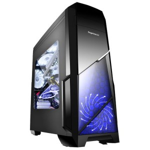 Calculator Gaming Intel Kaby Lake i7-7700 pana la 4.2GHz, 8GB DDR4, HDD 2TB + SSD 120GB, nVidia GTX1060 3GB GDDR5, DVDRW, Carcasa Gaming Segotep