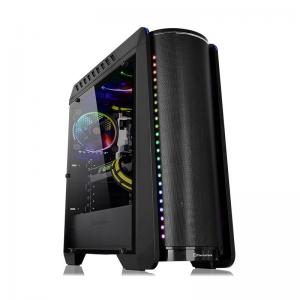 Calculator Gaming Intel Coffee Lake i9-9900K pana la 5.0GHz, 64GB DDR4, HDD 4TB + SSD 1TB, nVidia RTX2080Ti 11GB GDDR6, Carcasa Thermaltake RGB