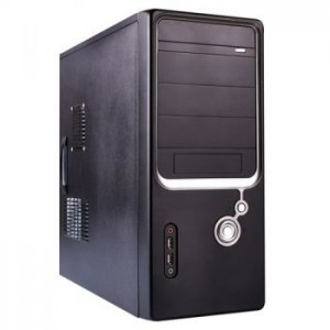 Calculator DUAL CORE INTEL C2D E8400 3.00Ghz, 4GB DDR, 250GB HDD, Ati Radeon X600 128MB, DVDROM, Carcasa Tower Generic