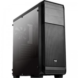 Carcasa Aerocool Aero 300 black FAW, Middle Tower, ATX, USB 3.0