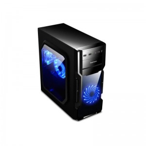 Carcasa Segotep And 5 Black, Middle Tower, ATX, USB 3.0