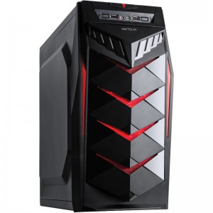 Carcasa Serioux Mustang 450W, Middle Tower