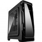 Carcasa Segotep Halo Black NF, Middle Tower, ATX, USB 3.0