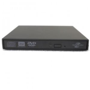 DVD Writer extern USB 2.0, model Slim, Negru