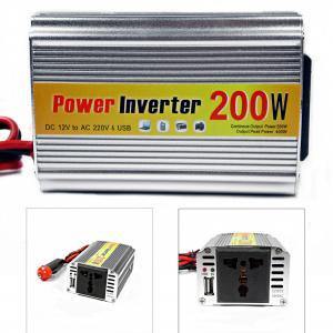 Invertor tensiune AUTO 12V->220V, 200W pentru laptop, tableta, etc