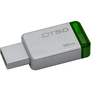 Stick Kingston 16 GB, USB 3.0, Data Traveler 50