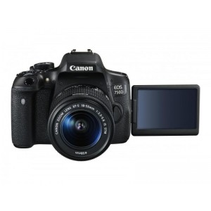 PHOTO CAMERA CANON 750D KIT EFS 18-55 IS