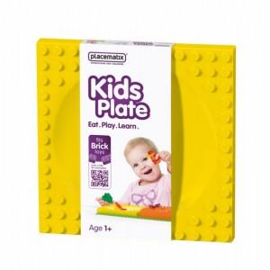 Kids Plate - yellow