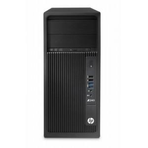 HP Z240TW E3-1225 8G 1T 2-K620 W7/10P