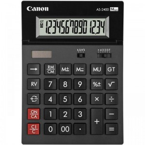 CANON AS2400 CALCULATOR 14 DIGITS