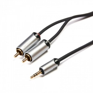X BY SERIOUX 3.5MM M- 2XRCA M CABLE 1.5M
