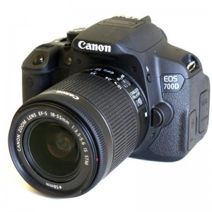 PHOTO CAMERA CANON 700D KIT EFS 18-55 IS