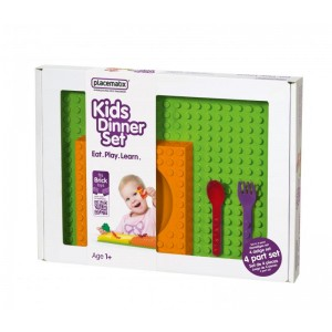 Kids Dinner Gift Box - bowl (o) & spoon