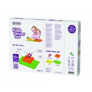 Kids Dinner Gift Box - bowl (y) & spoon
