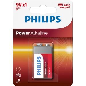 PH POWER ALKALINE 9V 1-BLISTER