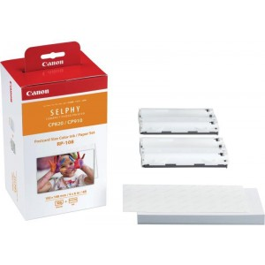 INK CASSETTE / PAPER SET CANON RP108