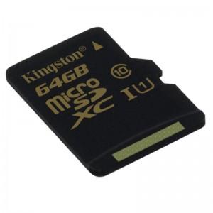 MICROSDXC 64GB CL10 UHS-I 90R/45W W/O AD