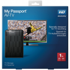 EHDD 1TB 2.5 MY PASSPORT AV-TV