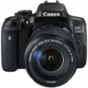 PHOTO CAMERA CANON 750D KIT EFS 18-135IS