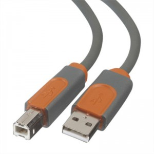 CABLU USB BELKIN, DSTP,USBA/USBB, 0.9M