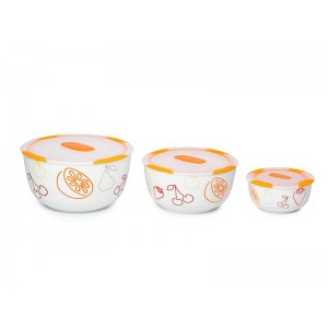 SET OURSSON 3 VASE CERAMICE BS2981RC/OR
