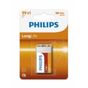 PH LONGLIFE 9V 1-BLISTER