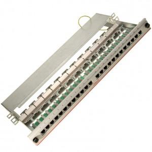 LANmark-5 PCB Patch Panel Screened 24 RJ